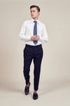 Blue Classic Trousers