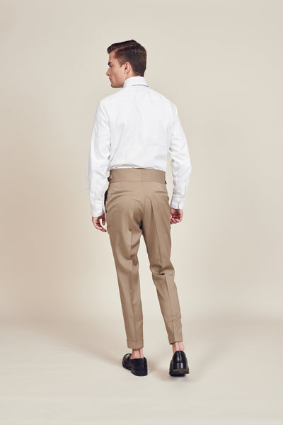 Brown Vintage Men's Trousers