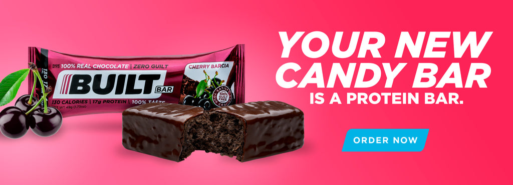 Your new candy bar is a protein bar.
