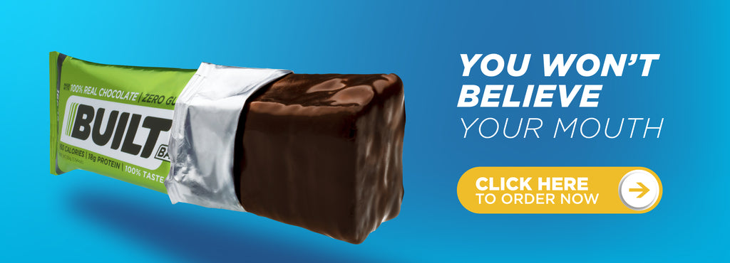 You won't believe your mouth. - Apple almond crisp new protein bar flavor.