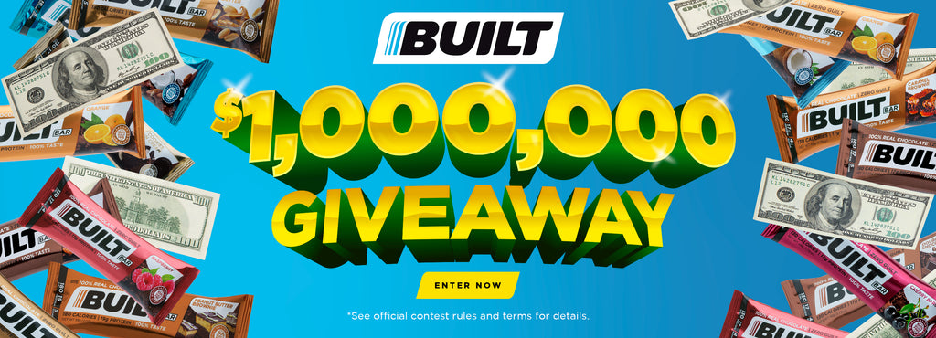 one million giveaway - Built