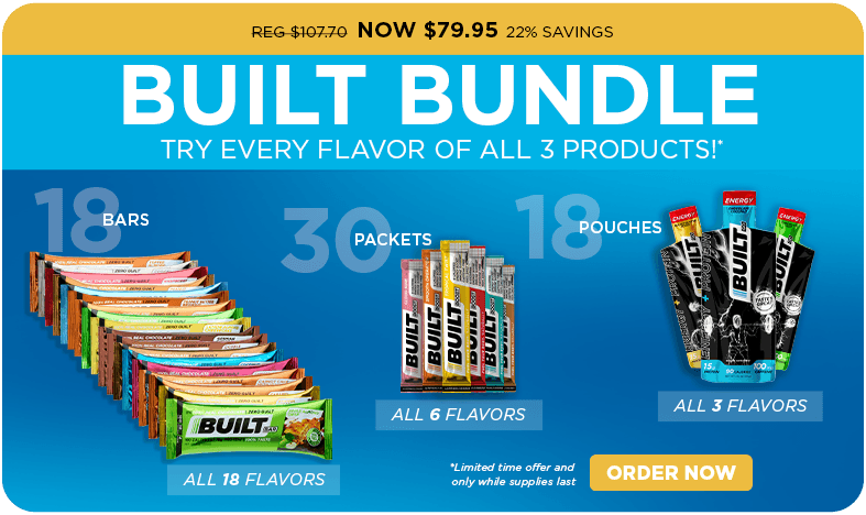 Build a Bundle - $79.95 - Built Bar