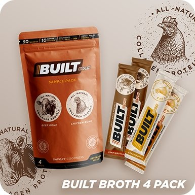Built Broth 4 Pack - Built Bar