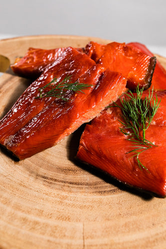 Alaskan Wild Hot Smoked Coho Salmon