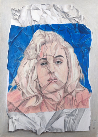 Katy Perry Original drawing