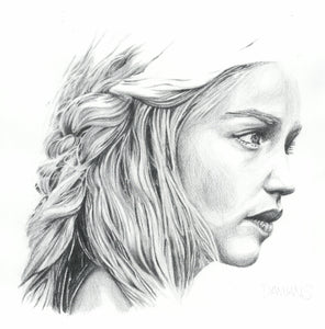 Mother of dragons A4 artist proof