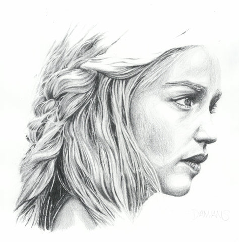 Mother of dragons A3 print
