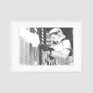 Storm Trooper A4 artist proof