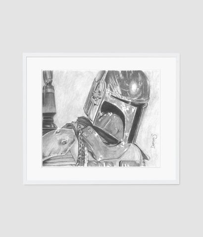 Boba Fett A4 artist proof