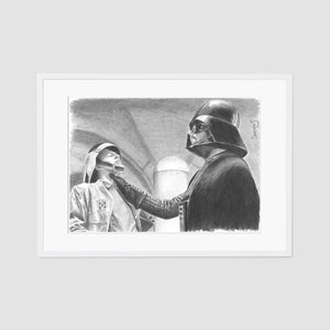 Darth Vader death grip A4 artist proof