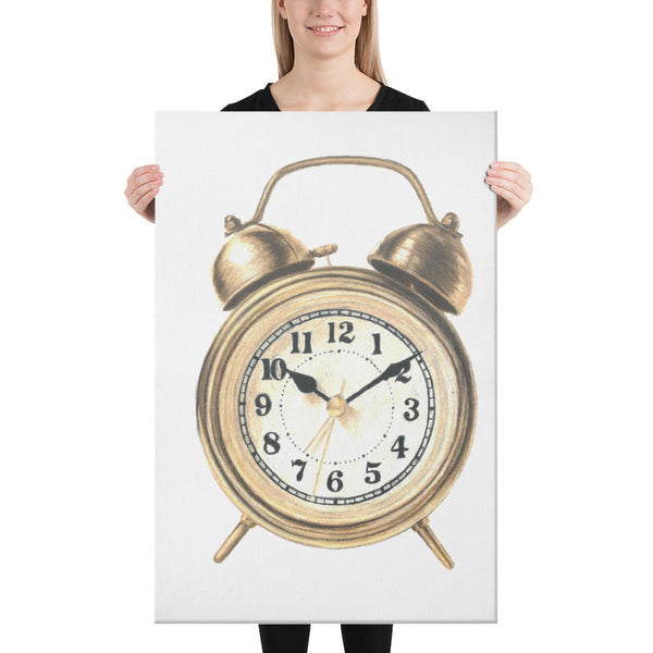 C is for Clock Canvas