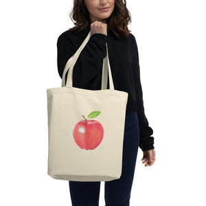A is for Apple Eco Tote Bag
