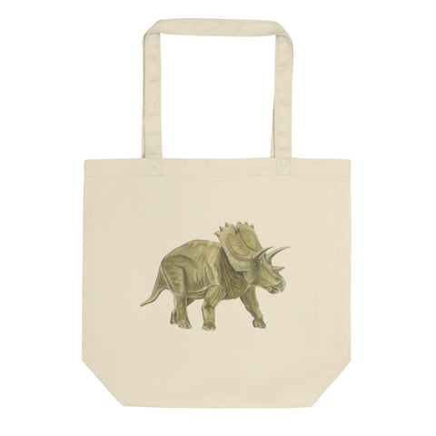 D is for dinosaur Eco Tote Bag