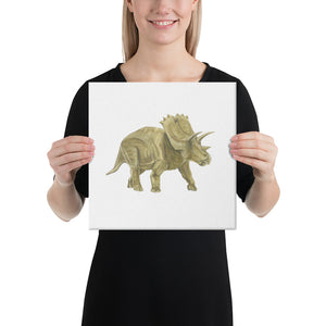 D is for Dinosaur Canvas