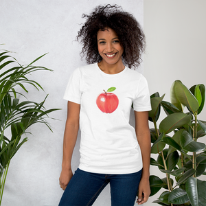 A is for Apple Unisex Short Sleeve Jersey T-Shirt