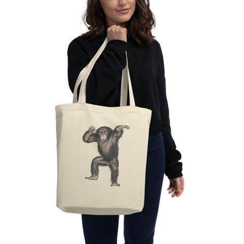 Chimpanzee Eco Tote Bag
