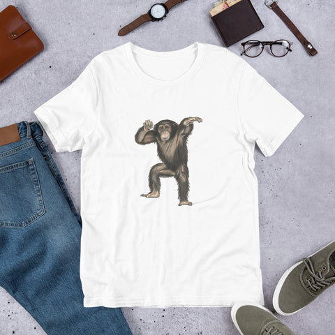 Chimpanzee Short-Sleeve Unisex T-Shirt