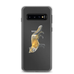 Fox drawing Samsung Case