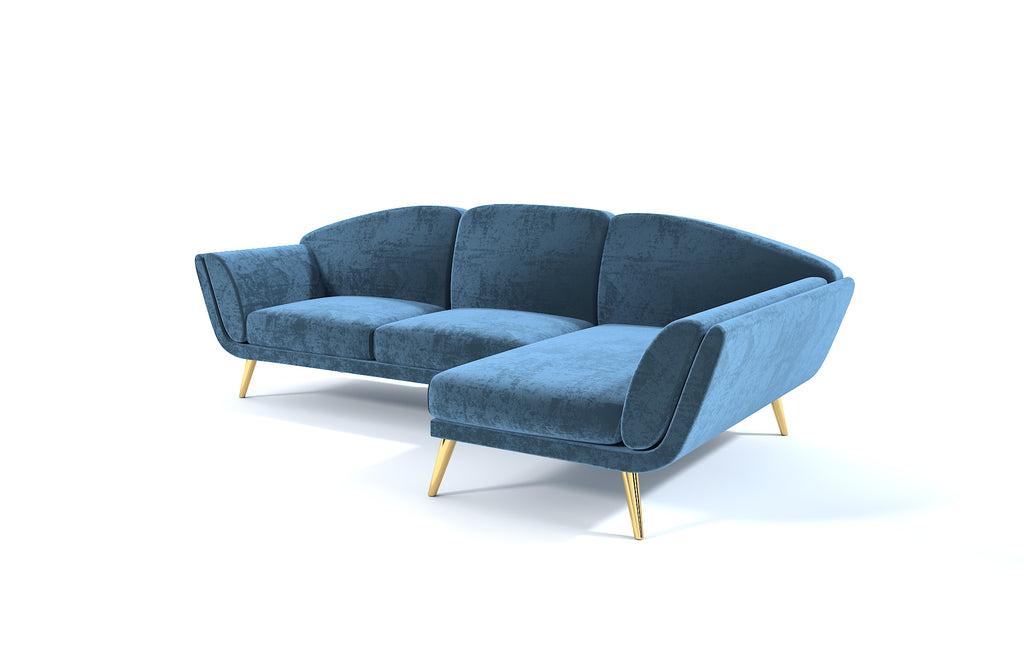 Chaise lounge sofa LUNA