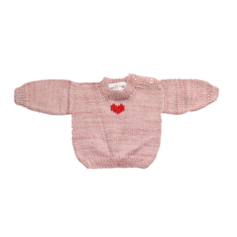 Eco Bamboo - Light Pink Pull Over