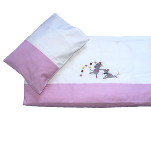 Cot Duvet Set - Ballerina Mice