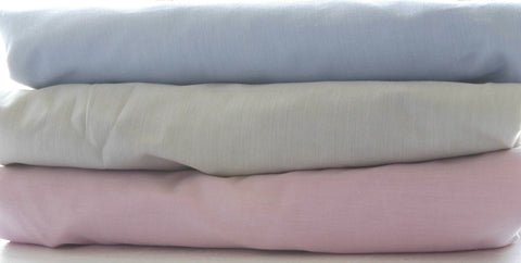 Cot Fitted or Flat Sheets - Colour