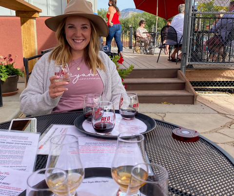 Red Fox Cellars Palisade Colorado Wine Tasting