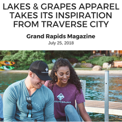 Lakes and Grapes Grand Rapids Magazine