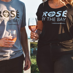 Rosé By the Bay Women's Slouchy Tee - Black