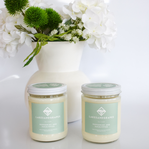 Candle - Peppermint & Eucalyptus