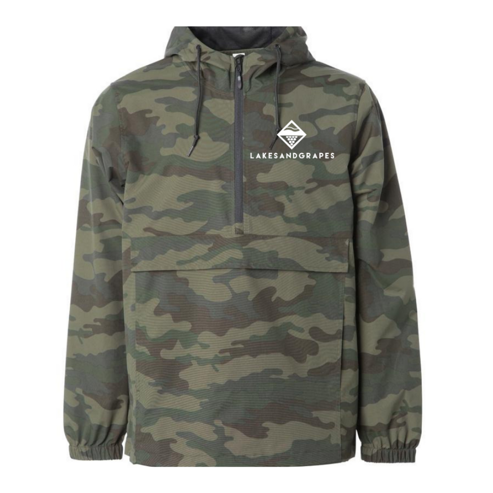 Military Pullover Jacket