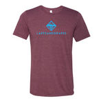 Lakes and Grapes Classic Maroon Tee