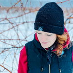 Lakes and Grapes merino wool beanies are perfect for cold Midwest winters.