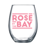 Drink Michigan Wine in the Rosé by the Bay  Stemless Glass
