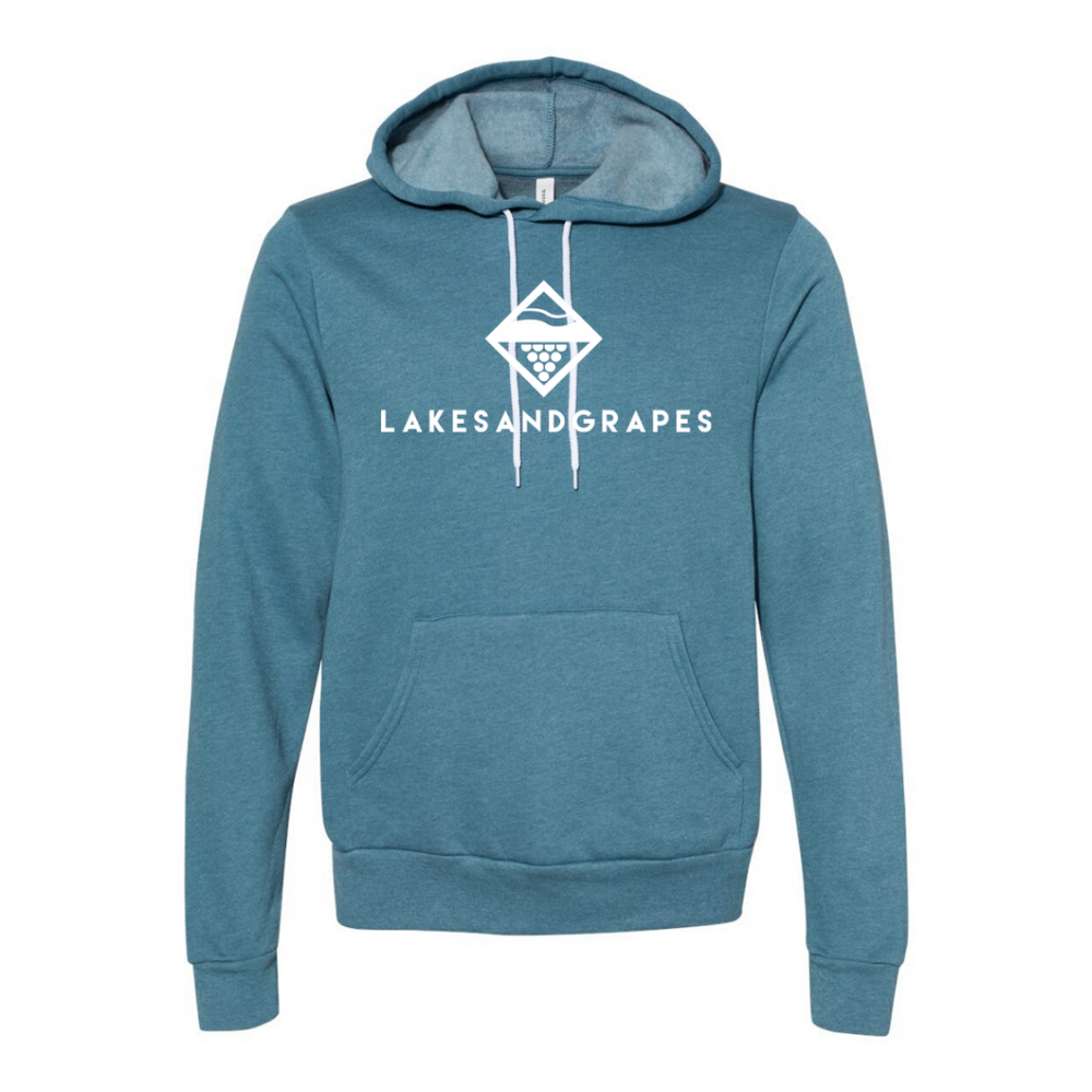 Classic Heather Deep Teal Hoodie