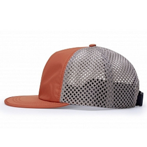Load image into Gallery viewer, Active Quick Dry Hat - Orange/Khaki