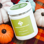 Hand poured in Traverse City Michigan Lakes and Grapes candles are made with a soy wax and lead free wick.