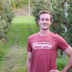 Adventure to Northern Michigan in the Fall for a wine tour and wear Lakes and Grapes Vineyard Tee- Clay