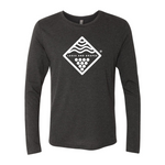 Wave and Vine Long Sleeve - Vintage Black