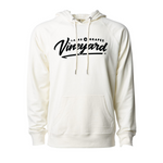 The Lakes and Grapes Vineyard Vintage Hoodie is perfect for Northern Michigan Fall Gear