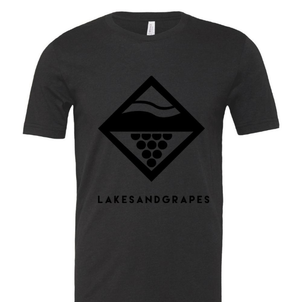 Lake Diamond Black on Black Tee