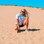 Visit the Sleeping Bear Sand Dunes and wear your favorite Lakes and Grapes Tie Dye Tee
