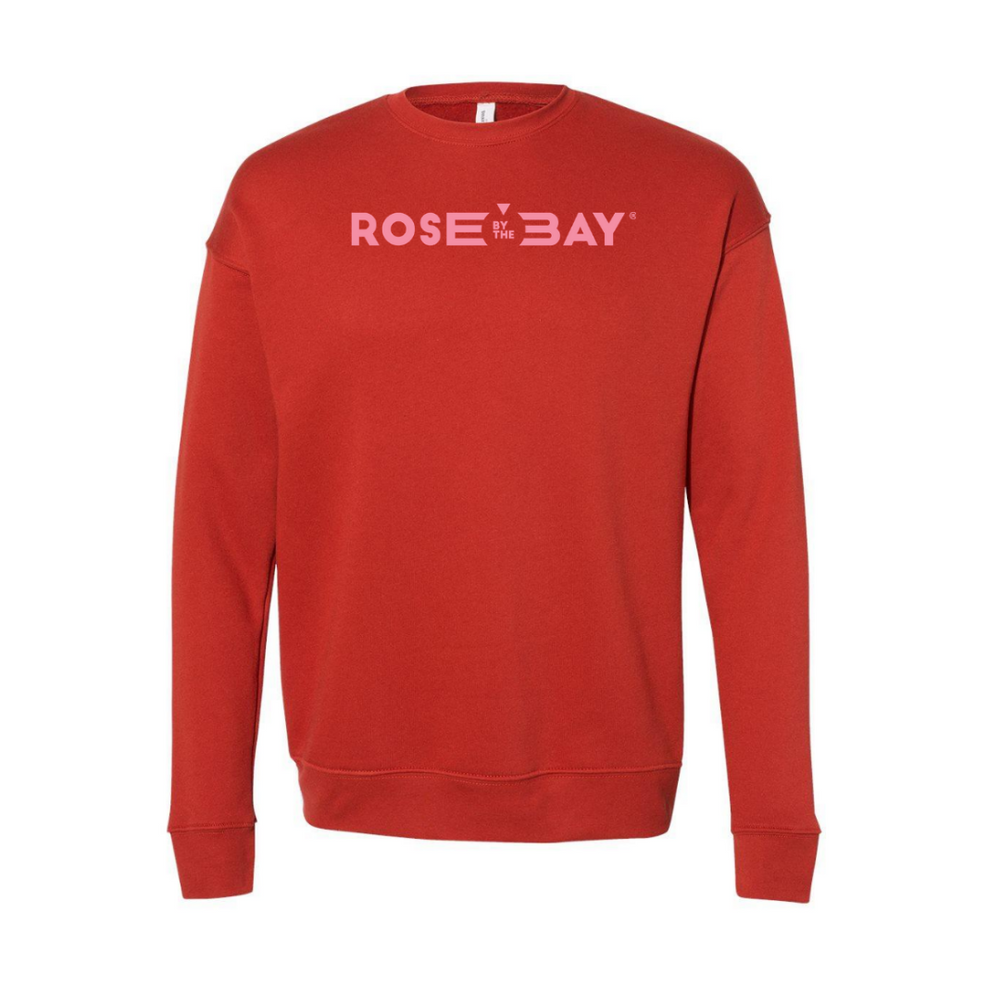 Lakes and Grapes Harvest Collection the Rose by The Bay Crew Sweatshirt Unisex Fit