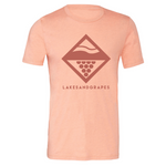 Lake Diamond Tee - Sunset