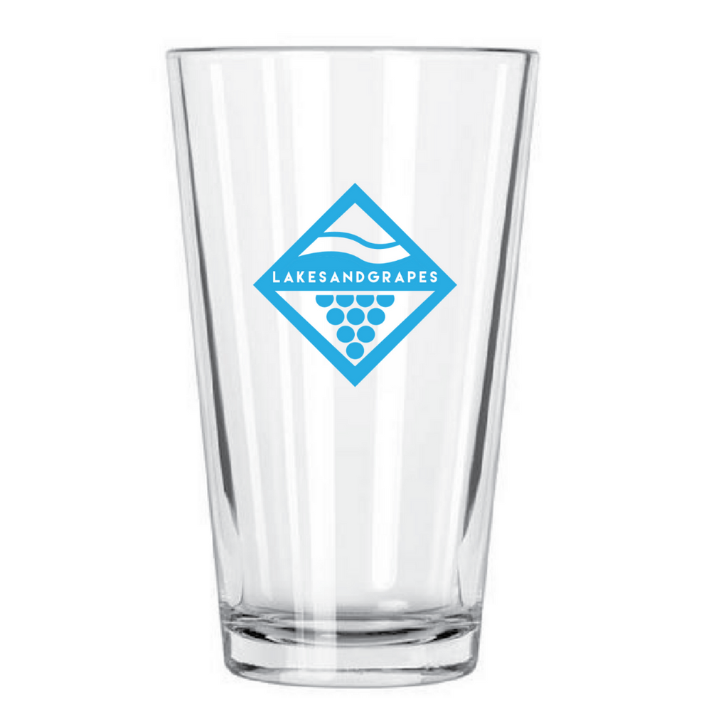 Lake Diamond Pint Glass
