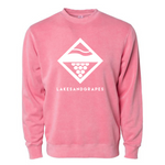 Lake Wash Diamond Crew - Pink