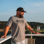 Rosé by the Bay Unisex Tee - Storm