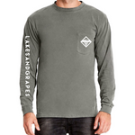 Long Sleeve Pocket - Grey