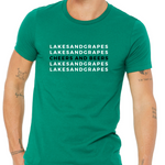 Cheers and Beers Unisex Tee - Kelly Green