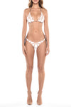 Folia White Triangle Bikini